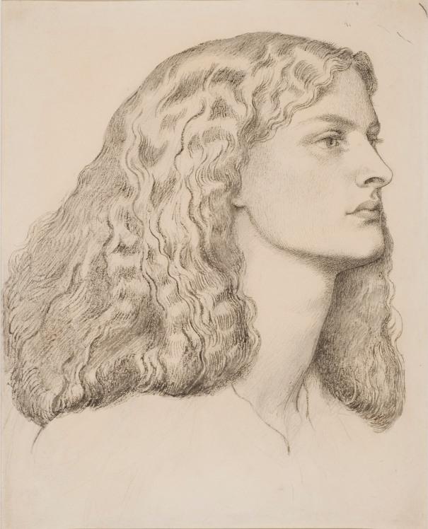 Dante Gabriel Rosetti: Porträtt av Annie Miller. NMH 1/2007
