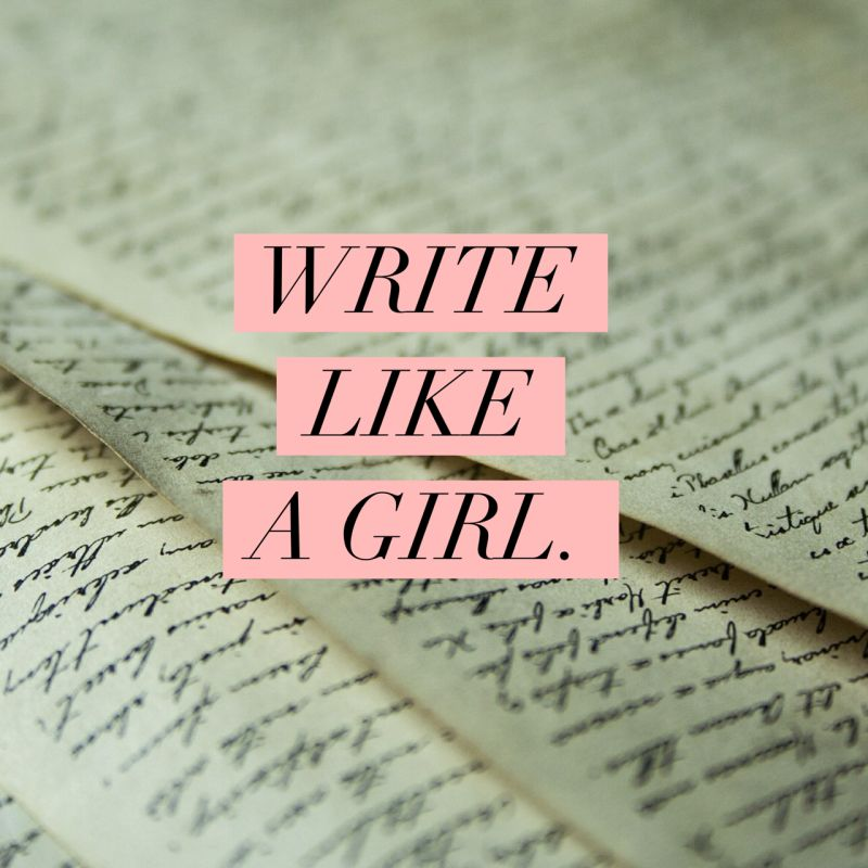 write-like-a-girl